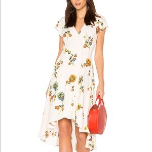 """Free People """"Lost in You"""" Floral Dress EUC!"""